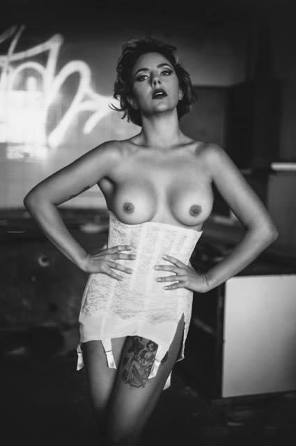 Patrizia Moretti, make-up Barbara Kenpachi